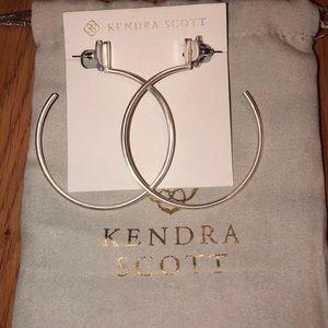 Kendra Scott pepper hoops